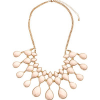 H&M - Short Necklace - Light pink - Ladies
