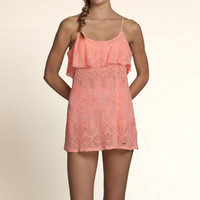 Lace Swim Cover-Up