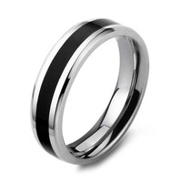 Titanium men ring, men wedding ring, men promise ring, men wedding band, men matching ring, men black ring