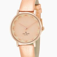 rose gold scallop metro - kate spade new york