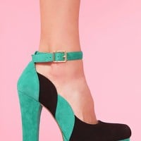 Salena Platform - Colorblock  in  What's New at Nasty Gal
