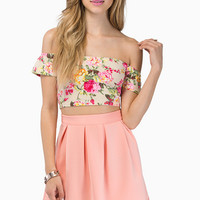 Flora Cropped Top $26