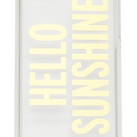 Hello Sunshine iPhone 5c Case