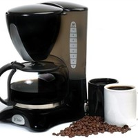 10 Cup Pause & Serve Coffee Maker Brew Caffeine College Drink Hot Roommates Machine Drink