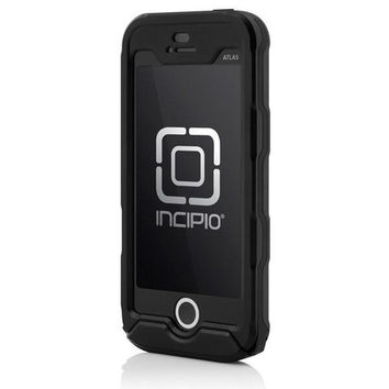 Incipio iPhone 5/5S Atlas ID Case - Black / Black