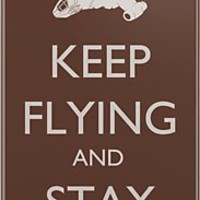Keep Flying and Stay Shiny iPhone & iPod Cases