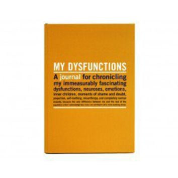 My Dysfunctions Journal