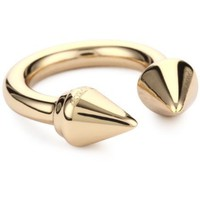 Vita Fede &quot;Titan Ring&quot; Rose Gold-Plated Ring, Size 8