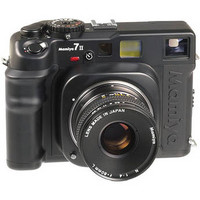 7 II Medium Format Rangefinder Manual Focus Camera Body - Black