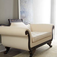 "Old Hickory Tannery ""Ellsworth Duncan"" Loveseat - Horchow"