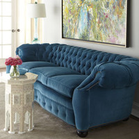 "Old Hickory Tannery ""City Club"" Sofa - Horchow"