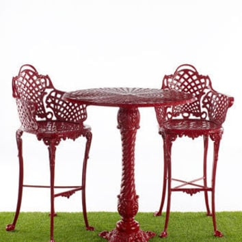 """Basketweave"" Patio Furniture - Horchow"
