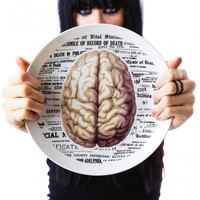 Sourpuss Clothing Brain Plate