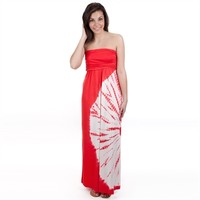 Moa Moa Juniors Tie-Dye Maxi Dress at Von Maur