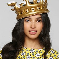 Queen For The day Inflatable Crown - Urban Outfitters