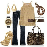 Gold - Polyvore
