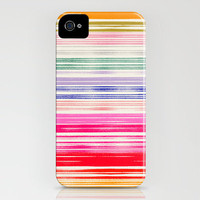 Waves_Multicolor iPhone Case by Garima Dhawan | Society6