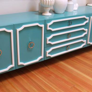 www.roomservicestore.com - Aqua Hollywood Credenza