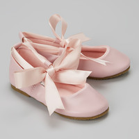 Pink Bow Ballet Flat | something special every day