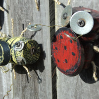 Set Of 8 BABY BUGS Wall Decor Yard Ornaments by TheSavvyShopper1