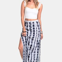 School's Out Maxi Skirt By MINKPINK