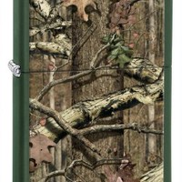 Zippo Green Matte Mossy Oak Break-Up Infinity Lighter