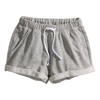 Sweatpant Shorts - from H&M