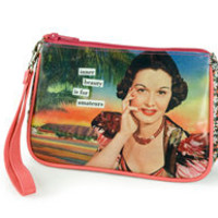 Anne Taintor Cosmetic Bags: inner beauty is for amateurs