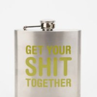 UrbanOutfitters.com > Get Your S**t Together Flask