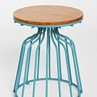 Wooden Top Side Table-