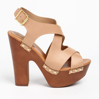 Criss Cross Strappy Heels - LoveCulture