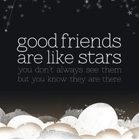 Good Friends are Like Stars  8x10 Print by tuckerreece on Etsy