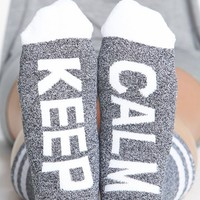 Arthur George by R. Kardashian 'Keep Calm' Socks