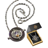 Harry Potter Collectible Sterling Silver Time-Turner by Noble | HarryPotterShop.com