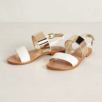 Guincho Sandals by Jasper & Jeera White 36 Euro Sandals