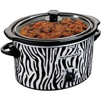 Hamilton Beach® Zebra 3-qt. Oval Slow Cooker