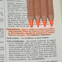 Eco Highlighters Orange Pencils 4 Pack