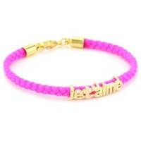 Tai Pink Jet Aime Bracelet - designer shoes, handbags, jewelry, watches, and fashion accessories | endless.com