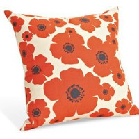 Bloom Tangerine Pillow - Pillows & Throws - Living - Room & Board