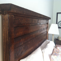 Rustic Farmhouse Headboard