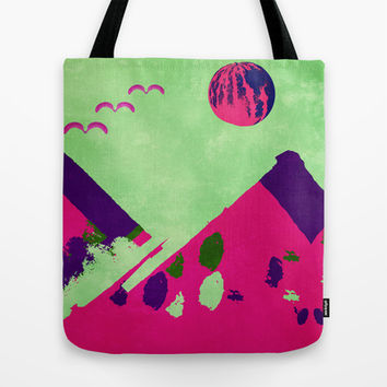 Watermelon  Tote Bag by SensualPatterns
