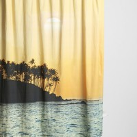 Magical Thinking Sunset Beach Shower Curtain - Urban Outfitters