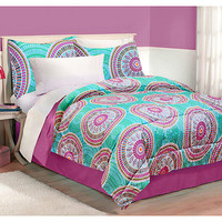 Walmart: Latitude Medallion Bedding Comforter Set