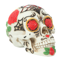Day Of The Dead Tattoo Sugar Skull Head Display