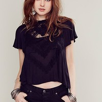 Free People Womens FP X Camille Blouse -