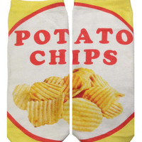POTATO CHIP SOCKS - Default Title