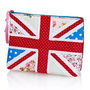 Pure Cotton Union Jack Zip Cosmetic Purse-Marks &amp; Spencer