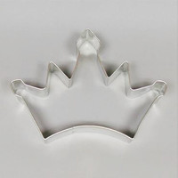 "Cookie Cutter Princess Collection  One 5"" Crown Tiara  Cookie Cutter   Party  Baking  Fun"