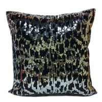 Sequin Cheetah Pillow - New Arrivals