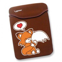 Handmade Gifts | Independent Design | Vintage Goods Cuddly Fox Laptop Sleeve - 12